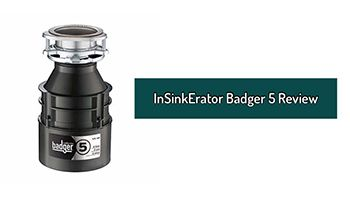 InSinkErator Badger 5 Review. Garbage Disposal 1/2 HP Continuous Feed For Your Kitchen Sink