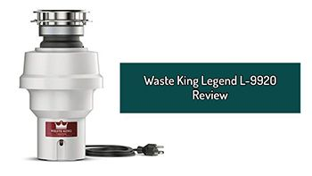 Waste King Legend L-9920 Review. 1/2 HP Continuous Feed Garbage Disposal For A Small Family.