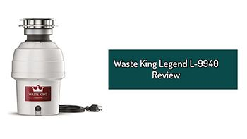 Waste King Legend L-9940 Review. A 3/4 HP Continuous Feed Garbage Disposal.