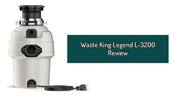 Waste King Legend L-3200 Review. 3/4 HP Garbage Disposal For Large Family.